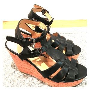 "Express Wedge Sandal - 4"" heel!"